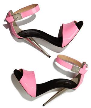 Giuseppe Zanotti Neon Pink