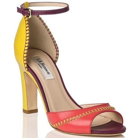 Bess Colour Block Sandal