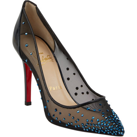 CL Jewelled pumps