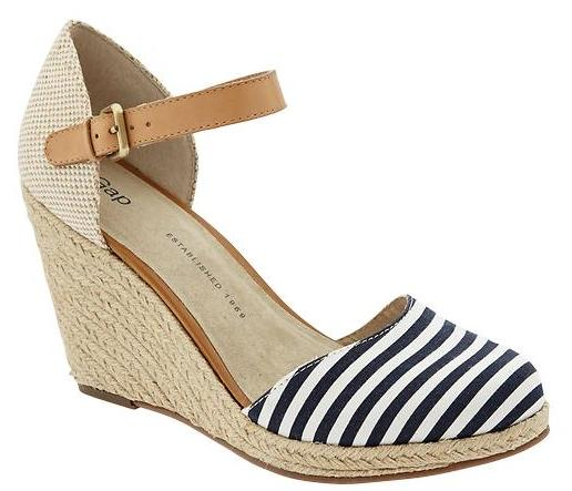 Gap Stripe Wedges