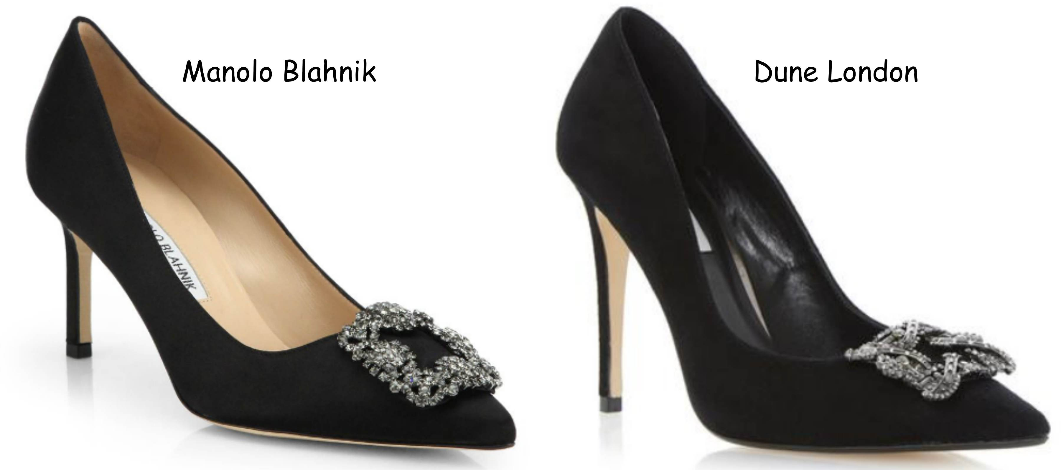 Crave or save manolo blahnik vs dune london dancing for Shoes by manolo blahnik