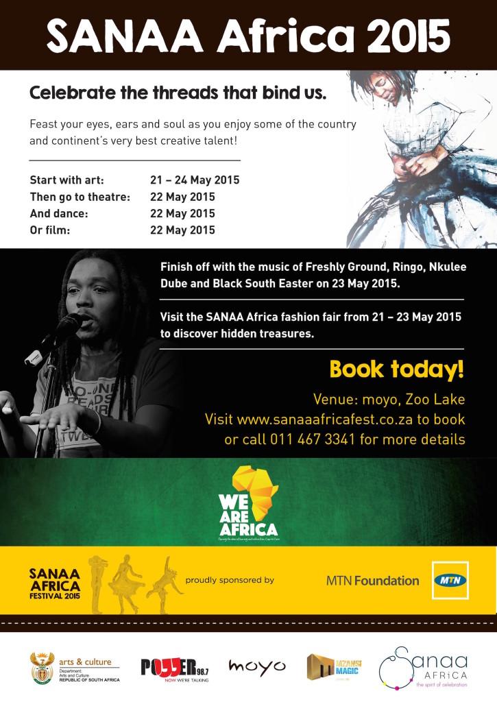 SANAA Africa Festival 2015 - banner SANAA Africa Fashion Fair