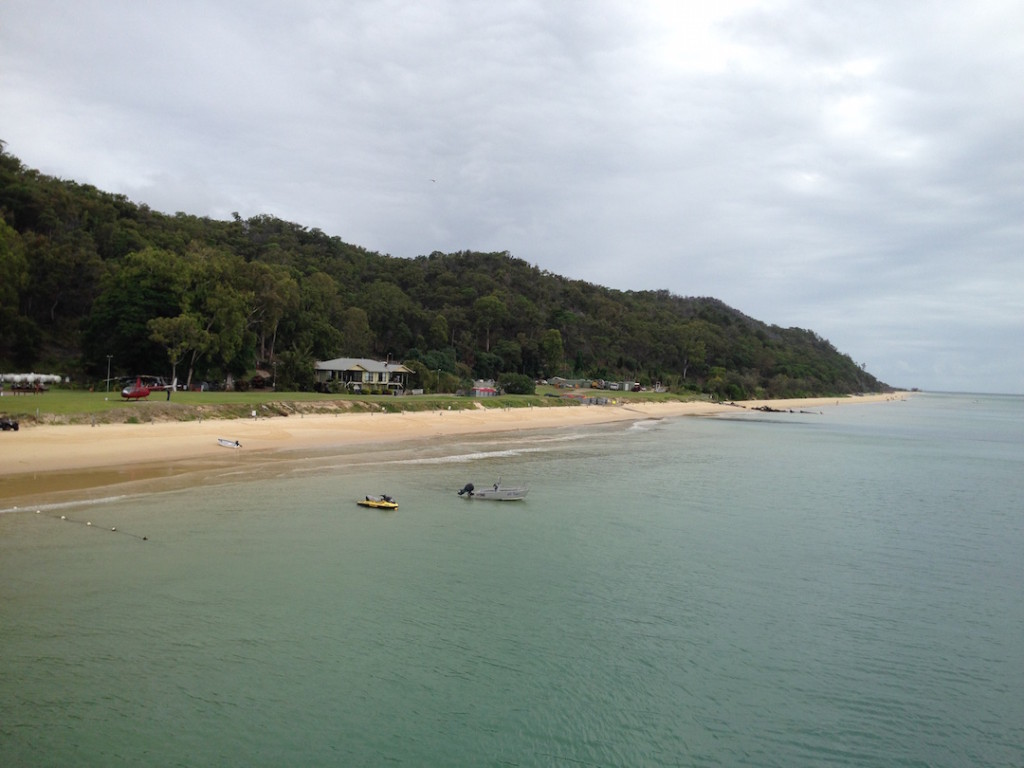 View of Moreton Island