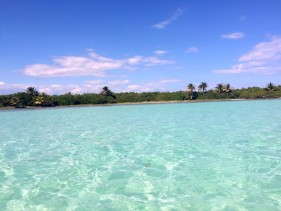 Blue Lagoon in Sian Kaan