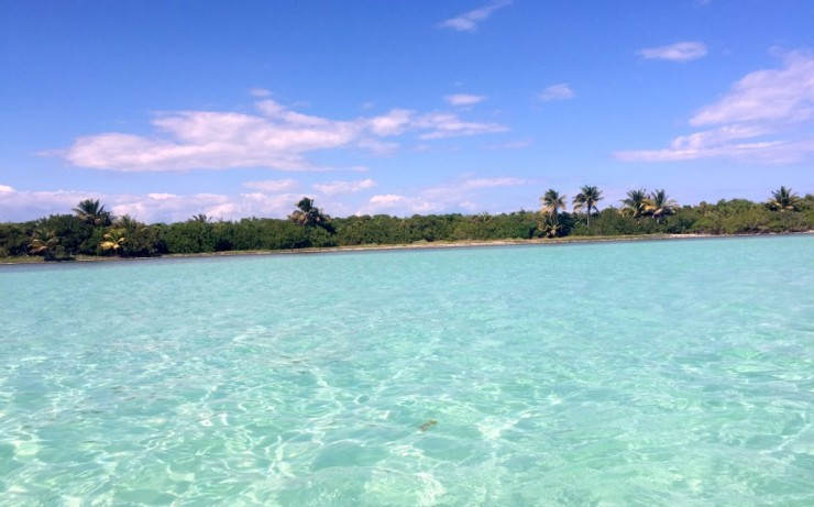Blue Lagoon in Sian Kaan