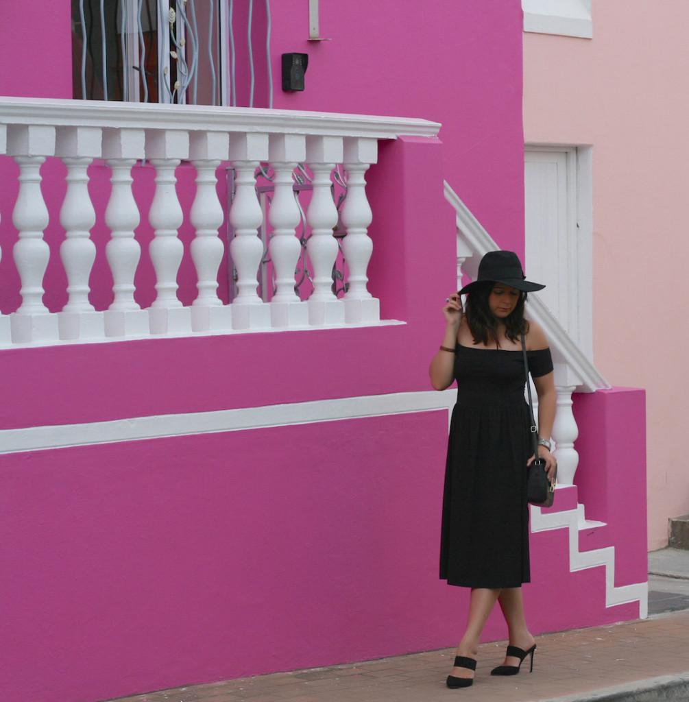 ASOS Bardot Midi Skater Dress outfit